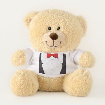 Wedding Themed Teddy in tux teddy bear