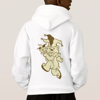 Teddy Jester Sepia Hoodie