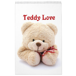 Teddy Love Calendar