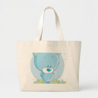 teddy love collection large tote bag