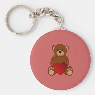 Teddy Love Keychain