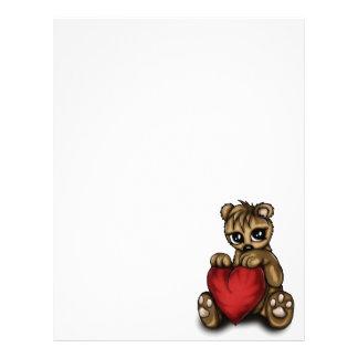 Teddy Love Letterhead