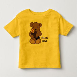 Teddy Love Toddler T-shirt