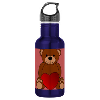 Teddy Love Water Bottle