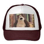 Teddy Loves Trees Cap Trucker Hat