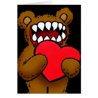 Teddy Loves You Greeting Card