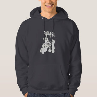 Teddy Metal Iwo Jima Hooded Pullover