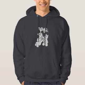 Teddy Metal Iwo Jima Hoodie