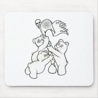 Teddy Metal Iwo Jima Mouse Pad