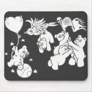 Teddy Metal Mouse Pad