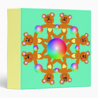 Teddy Pals 3-Ring Binder
