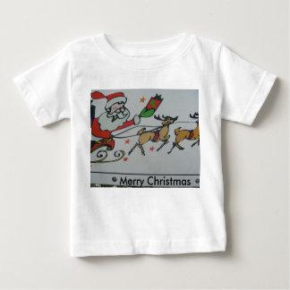 Teddy Photo Merry Christmas Tee Shirt