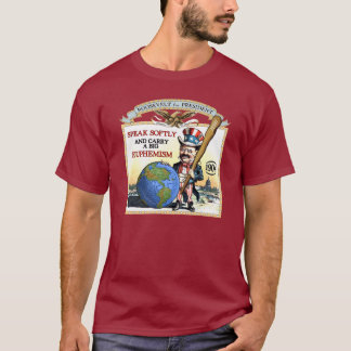 Teddy Roosevelt 1904 Campaign (Men's Dark Shirt) T-Shirt