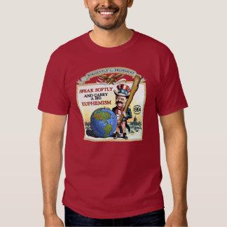 Teddy Roosevelt 1904 Campaign (Men's Dark Shirt) Tshirt