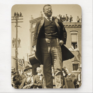 Teddy Roosevelt 1905 Stereoview Card Vintage Mousepad