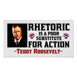 Teddy Roosevelt: A Time For Action Poster