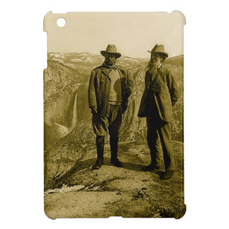 Teddy Roosevelt and John Muir at Glacier Point iPad Mini Cover