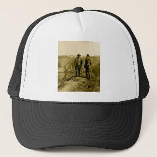 Teddy Roosevelt and John Muir at Glacier Point Trucker Hat