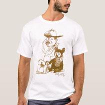 Teddy Roosevelt and Teddy Bear T-Shirt