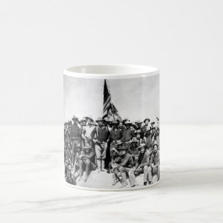 Teddy Roosevelt And The Rough Riders Coffee Mug