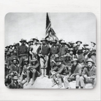 Teddy Roosevelt And The Rough Riders Mousepad