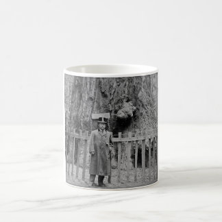 Teddy Roosevelt at the Big Tree Grove Santa Cruz Coffee Mug