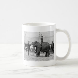 Teddy Roosevelt at the Circus: 1924 Coffee Mug