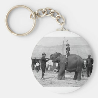 Teddy Roosevelt at the Circus: 1924 Keychain