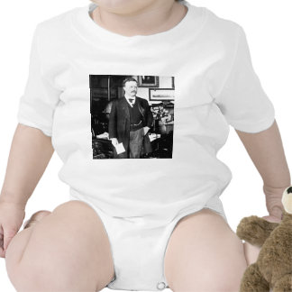 Teddy Roosevelt at the White House 1912 Vintage Baby Bodysuit