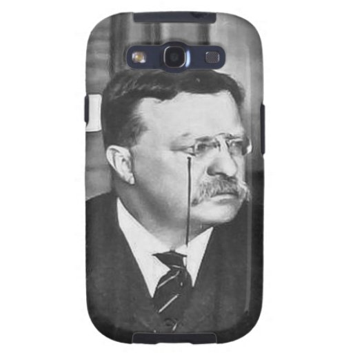 Teddy Roosevelt at Work in 1912 Samsung Galaxy S3 Cover