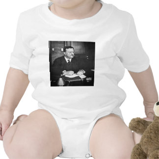 Teddy Roosevelt at Work in 1912 T-shirts