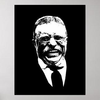 Teddy Roosevelt -- Blanco y negro Impresiones