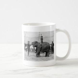 Teddy Roosevelt en el circo: 1924 Taza De Café