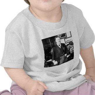 Teddy Roosevelt en el vintage 1912 de la Casa Blan Camiseta