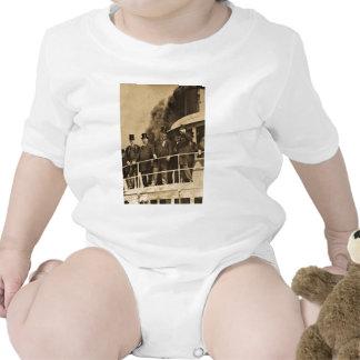 Teddy Roosevelt en el vintage de Tashmoo del vapor Camiseta