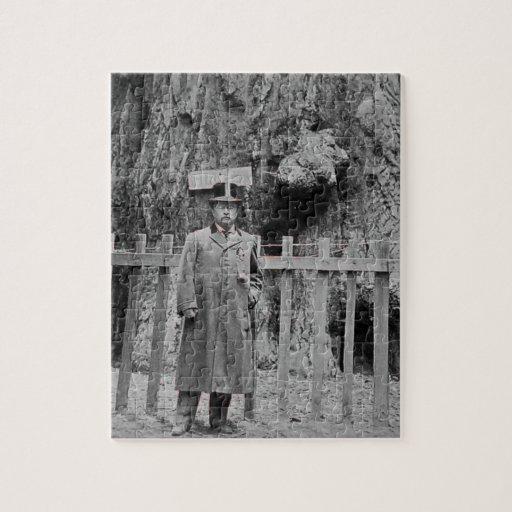 Teddy Roosevelt en la arboleda grande Santa Cruz d Puzzle Con Fotos