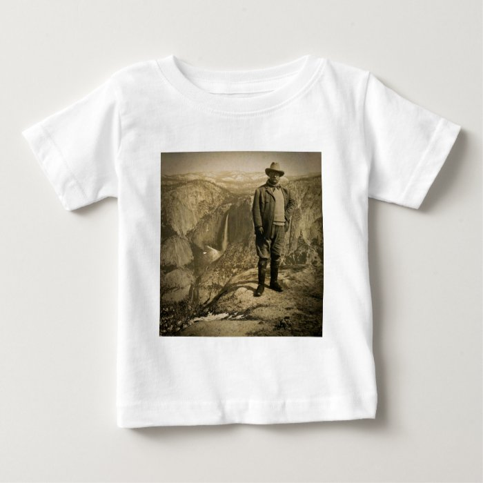 Teddy Roosevelt Glacier Point Yosemite Valley Baby T-Shirt
