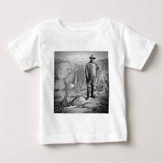 Teddy Roosevelt Glacier Point Yosemite Valley CA Baby T-Shirt