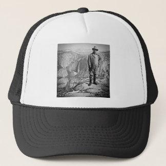 Teddy Roosevelt Glacier Point Yosemite Valley CA Trucker Hat