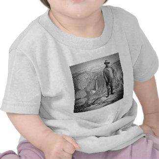 Teddy Roosevelt Glacier Point Yosemite Valley CA Shirt