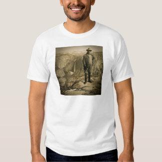 Teddy Roosevelt Glacier Point Yosemite Valley Shirt