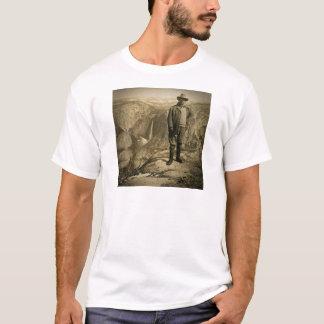 Teddy Roosevelt Glacier Point Yosemite Valley T-Shirt