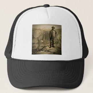 Teddy Roosevelt Glacier Point Yosemite Valley Trucker Hat