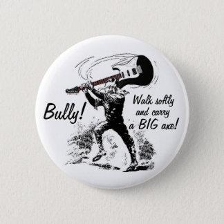 Teddy Roosevelt Guitar Pinback Button