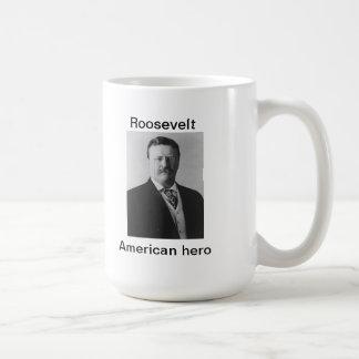 Teddy Roosevelt, héroe americano Tazas