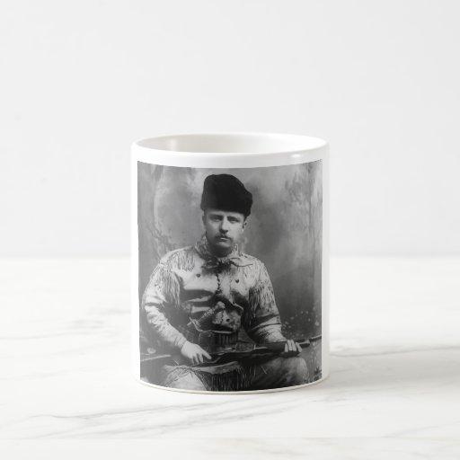 Teddy Roosevelt joven Taza De Café