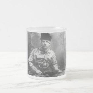 Teddy Roosevelt joven Taza De Cristal