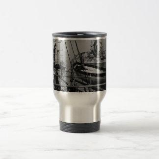 Teddy Roosevelt on the Mayflower Travel Mug
