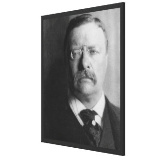 TEDDY ROOSEVELT Photograph by Alvin Langdon Coburn Canvas Print
