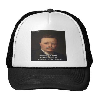 """Teddy Roosevelt """"pies en"""" el regalo de tierra de l Gorro"""